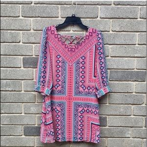HeartSoul Pink and Blue Dress M